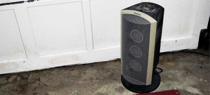 space heater for home garage gym