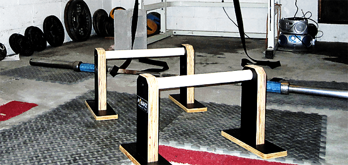 Parallettes for Home Garage Gym
