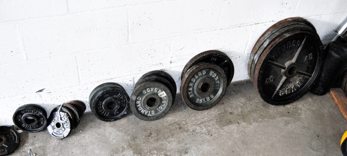Barbell Weight Plates  for Home Garage Gym