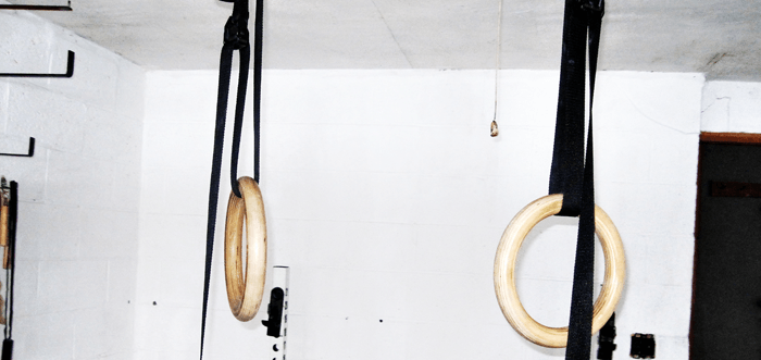 Gymnastics Rings for Garage Home Gym