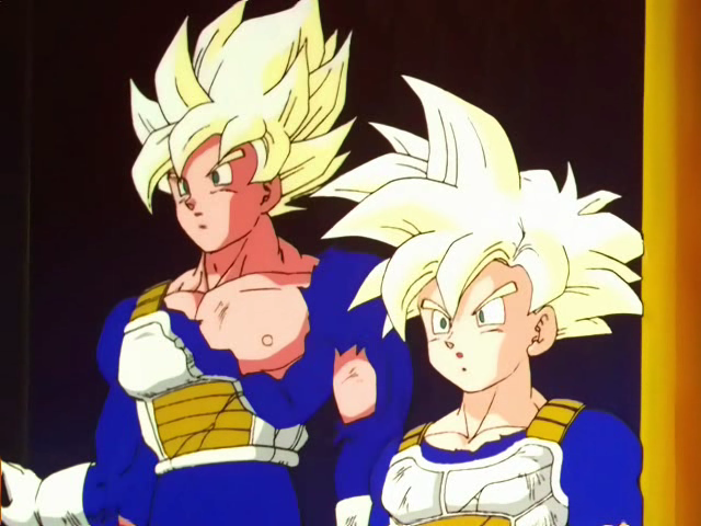 Goku and Gohan Training Tip Hyperbolic Time Chamber