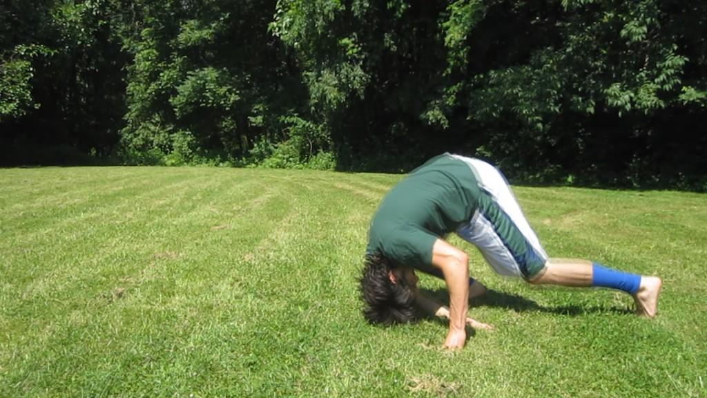Kneeling Forward Shoulder Roll by Anthony Mychal
