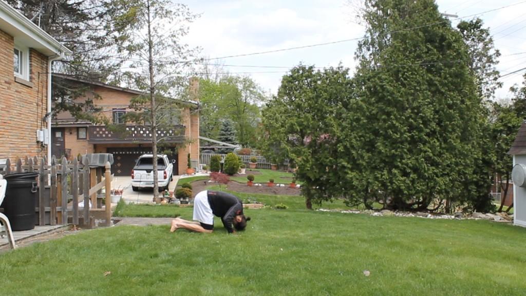 Kneeling Forward Roll by Anthony Mychal