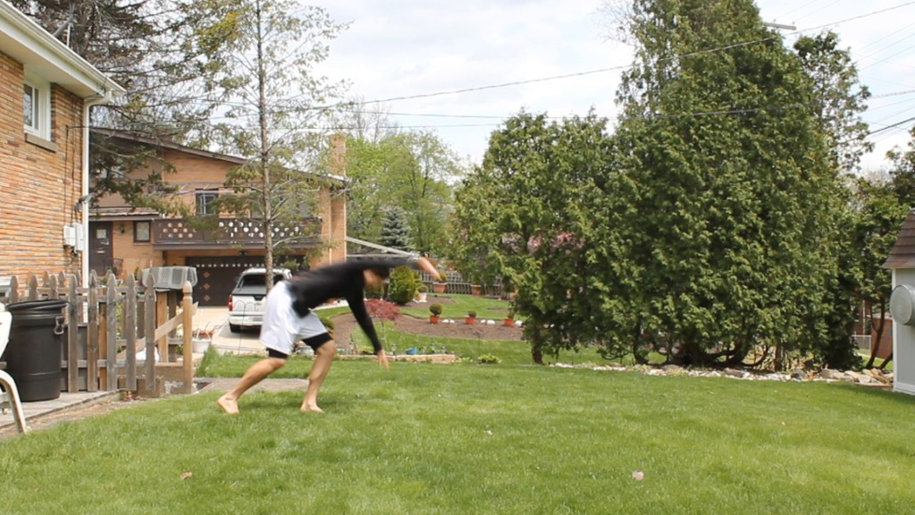 Standing Front Shoulder Roll by Anthony Mychal