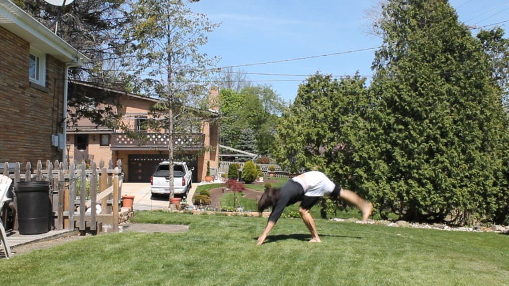 Backwards Roll to Handstand by Anthony Mychal