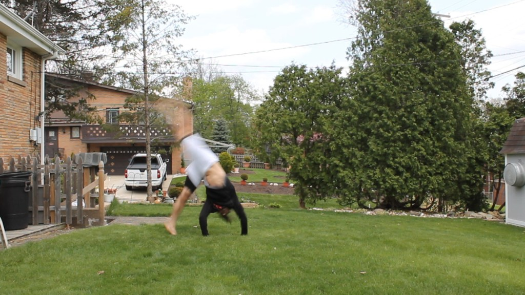 Hand Releasing Cartwheel by Anthony Mychal