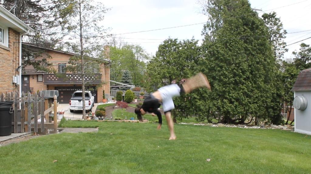 Southpaw Cartwheel by Anthony Mychal