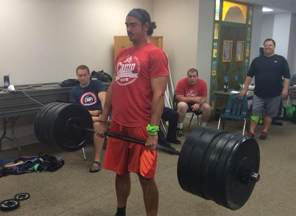Anthony Mychal Deadlift 550 Pounds