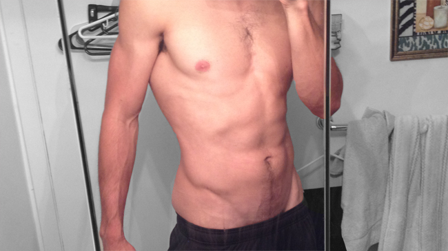 Love handles skinny-fat Anthony Mychal