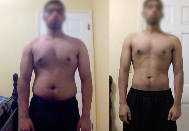 skinny-fat vegetarian fat loss