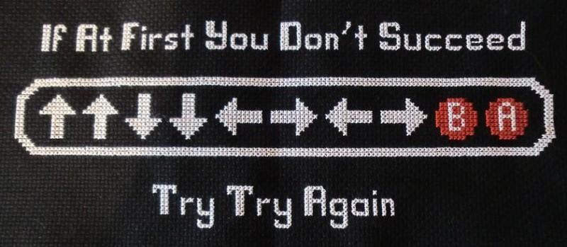 Konami Cheat Code Motivation