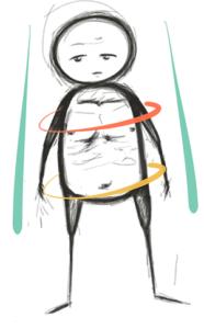 skinny fat frame
