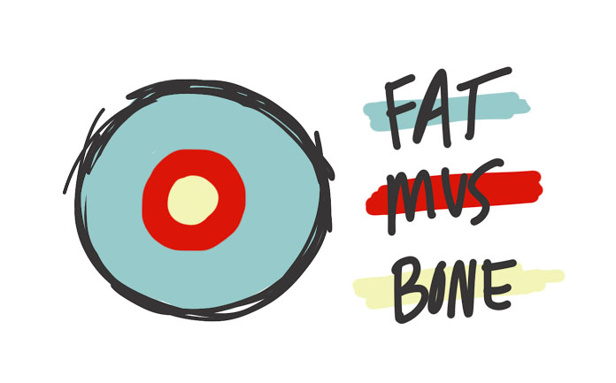 muscle fat bone model